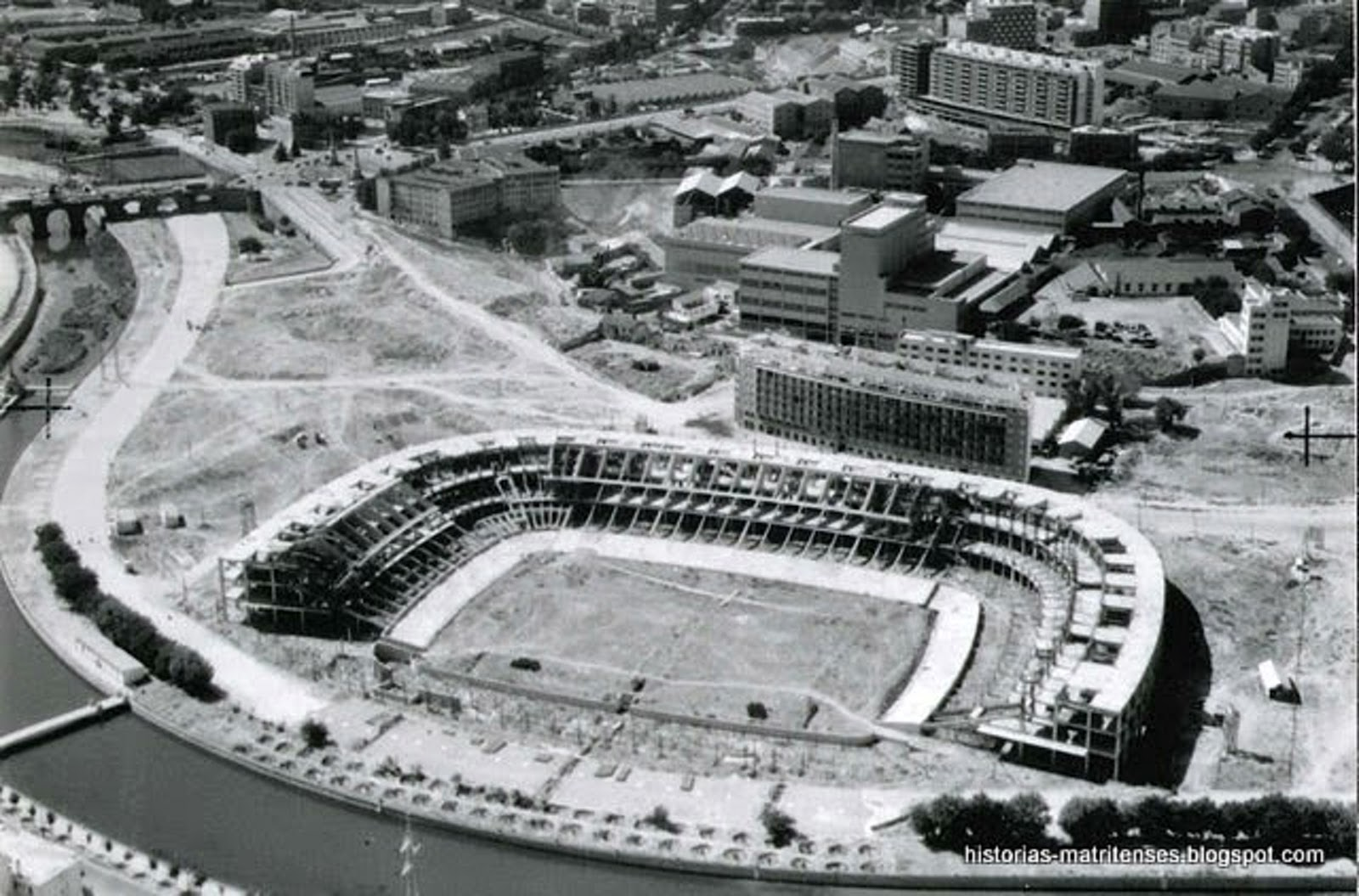 Vicente Calderon 1964 Madrid