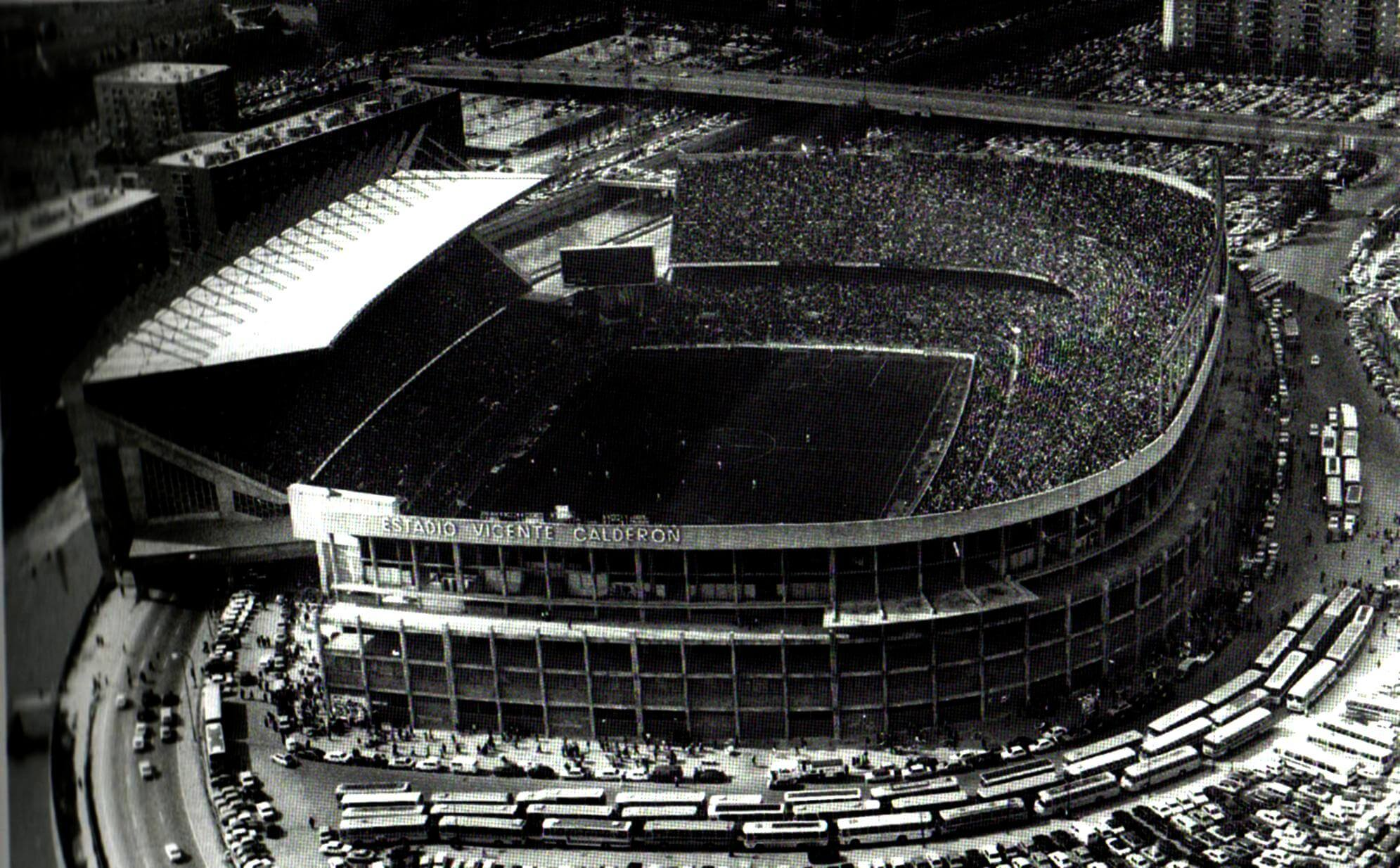 O Atletico De Madrid Estadio Vicente Calderon 1278268