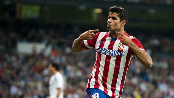 Diego Costa Atletico Madrid Madrid Derby 3260715